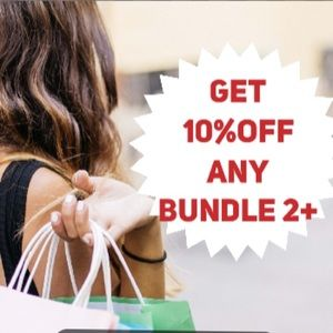 Bundle and save 10% on 2 items or more!